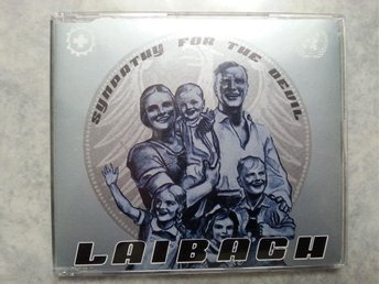LAIBACH - SYMPATHY FOR THE DEVIL - CD SINGEL