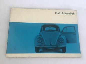VW 1300 A. VW 1300. VW 1500 augusti 1966 instruktionsbok - Bromma - VW 1300 A. VW 1300. VW 1500 augusti 1966 instruktionsbok - Bromma