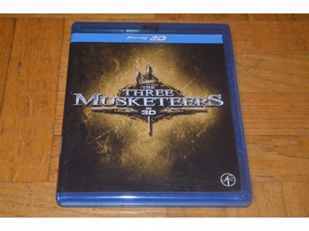 De Tre Musketörerna 3D - The Three Musketeers 3D 2011 - Bluray Blu-Ray INPLASTAD