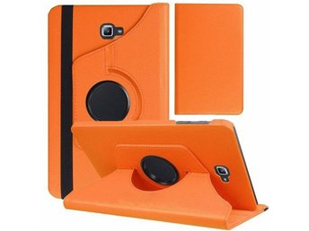 Samsung Galaxy Tab 3 (T550 T551) Smart 360 Degree Rotating/360 Fodral - Orange