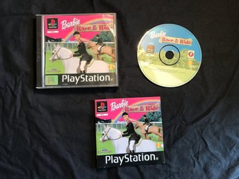 BARBIE RACE & RIDE  PS1 PLAYSTATION 1 PSONE
