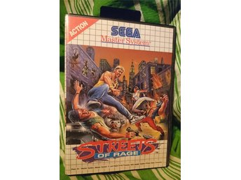 Streets of Rage inkl manual / Sega Master System