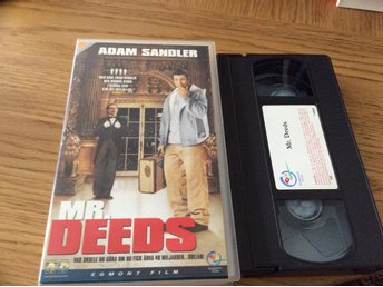 MR DEEDS VHS ADAM SANDLER