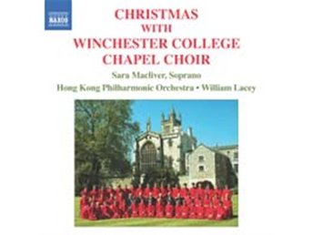 Winchester College Chapel Choir: Christmas with. (CD)