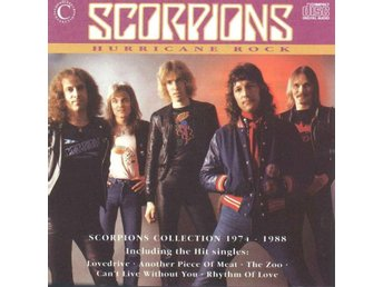 SCORPIONS - HURRICANE ROCK: SCORPIONS COLLECTION 1974-1988