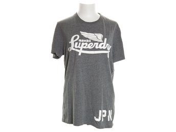 Superdry, T-shirt, Grå