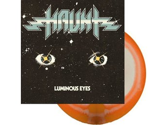 Haunt -Luminous eyes lp orange/white vinyl. Limited 300 copi