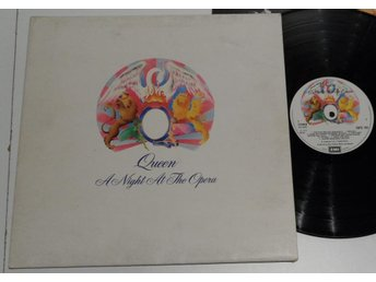 Queen - A Night At The Opera - England LP - Struktur Omslag