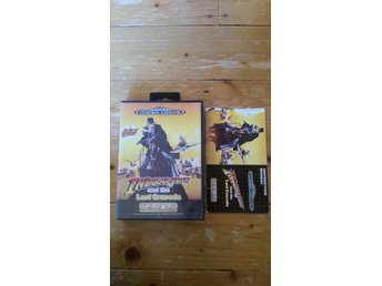 Sega Mega Drive Indiana Jones and the Last Crusade