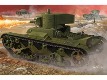 Hobby Boss 1/35 Infantry Tank Mod.1938 Soviet OT-130 Flame Thrower Tank