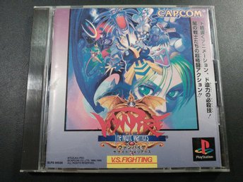 Vampire : The Night Warriors ( Darkstalkers ) till Playstation - Japanskt