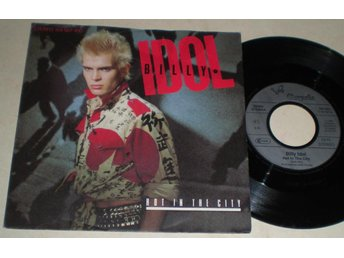Billy Idol 45/PS Hot in the city 1982 VG - Farsta - Billy Idol 45/PS Hot in the city 1982 VG - Farsta