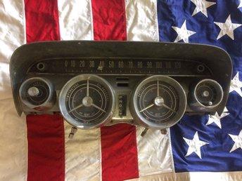 Buick -59 hastighetsmätare cluster. Electra, Lesabre, Invicta - Arvika - Buick -59 hastighetsmätare cluster. Electra, Lesabre, Invicta - Arvika