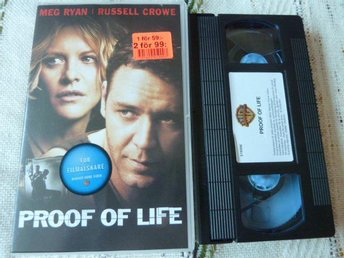 PROOF OF LIFE,  VHS, THRILLER, FILM