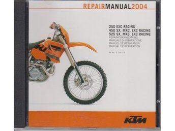 Manual till KTM 2004/2005 på CD