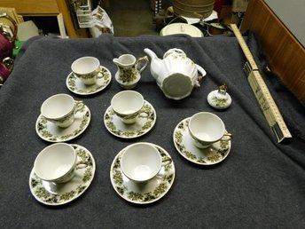 Mocca kaffe Set om 15 delar Vintage - Ringarum - Mocca kaffe Set om 15 delar Vintage - Ringarum
