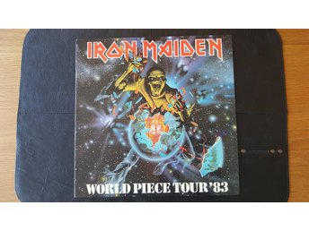Iron Maiden: World Piece Tour '83 turnéprogram, fri frakt!