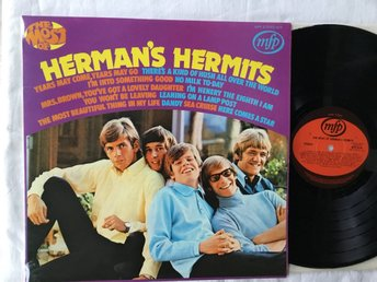 Herman´s Hermits-The most of. TOPPEX