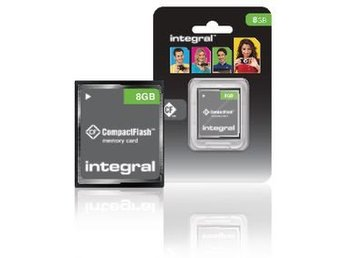 Integral CF (Compact Flash) Minneskort 8 GB