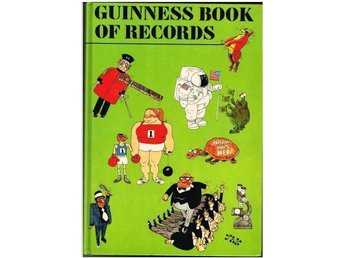 GUINNESS BOOK OF RECORDS 1975 EDITION (Edition 21)