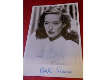 Legenden Bette Davis (1908-89)