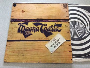 Lp Magna Carta-Songs from wasteis.. rare uk org Vertigo swirl
