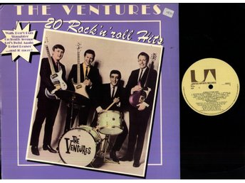 THE VENTURES - 20 ROCK 'N' ROLL HITS