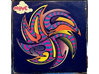 MOVE - MOVE Skandinavisk press Polydor 1968.