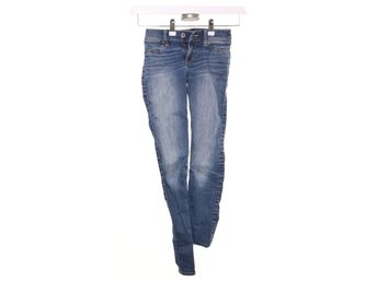 Abercrombie & Fitch, Jeans, Strl: 170, Blå
