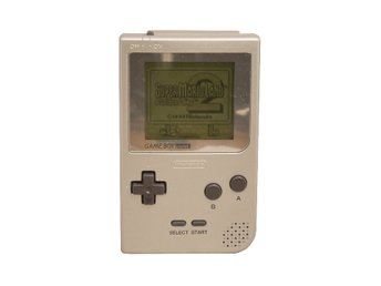 Game Boy Pocket (Silver Nyrenoverad)