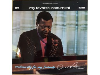 LP - OSCAR PETERSON: MY FAVOURITE INSTRUMENT