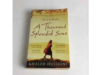 Bok, A thousand splendid suns, Khaled Hosseini, Pocket, ISBN: 9780747593775