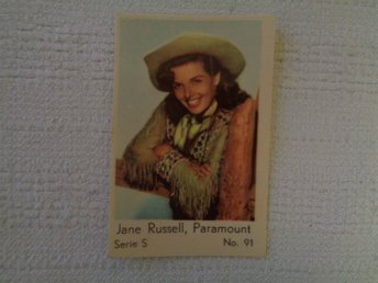 Nr 91 Jane Russell- Serie S 1957- Stor text