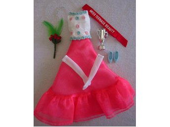 Barbie Francie outfit reproduktion av #1284 Miss Teenage Beauty