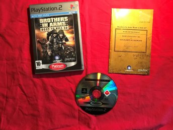 BROTHERS IN ARMS ROAD TO HILL 30 PS2 PLAYSTATION 2 OK SKICK