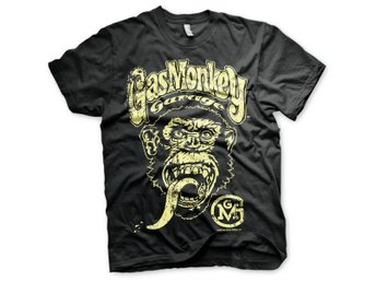 GAS MONKEY GARAGE BIG BRAND LOGO TSHIRT STORLEK 4XL