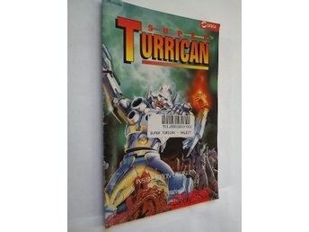 SNES - Manualer: Super Turrican (Endast manual)