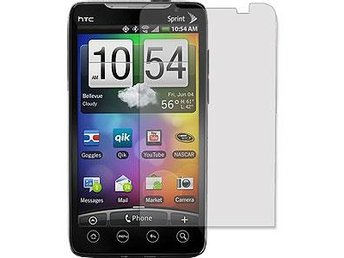 HTC Evo 4G Displayskydd (Klar) 3-Pack