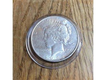 Peace Dollar 1922 (Nr 14) - Torslanda - Peace Dollar 1922 (Nr 14) - Torslanda