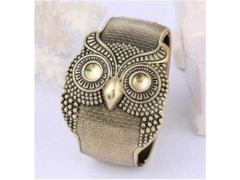 NY!Unikt Brilliant Owl Armband Copper (v0941) - Shanghai - NY!Unikt Brilliant Owl Armband Copper (v0941) - Shanghai