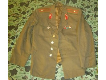 The everyday jacket of the military officer of the USSR in the 1970s-1980s.
