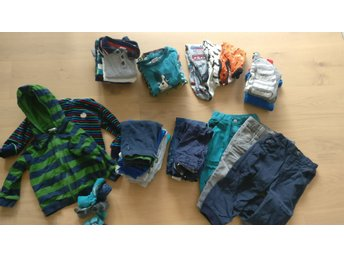 Klädpaket 86-92 POP m.m. - Mellbystrand - Klädpaket 86-92 POP m.m. - Mellbystrand