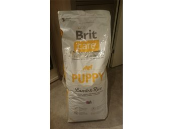Brit Care Puppy Lamb & Rice 12kg oöppnad - Degeberga - Brit Care Puppy Lamb & Rice 12kg oöppnad - Degeberga