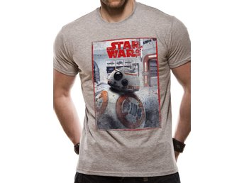 STAR WARS 8 THE LAST JEDI - BB8 REVEAL (UNISEX)  T-Shirt - Large
