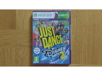 Xbox 360: Just Dance Disney Party 2 (fabriksinplastat, kräver Kinect)