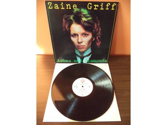 Zaine Griff: Ashes And Diamonds. 1980 LP, US. New Wave, Synth-pop.