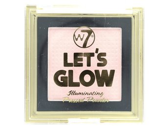 W7 Lets Glow Illuminating pressed Powder # Light