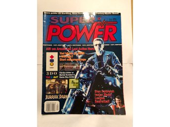 "Super Power Nr 4 1993 ""Allt om Arnold och the last action hero"""