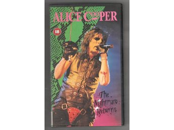 Alice Cooper - The nightmare returns VHS