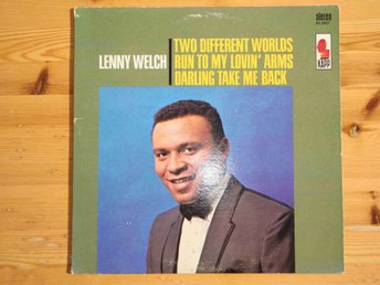 LENNY WELCH - TWO DIFFERENT WORLDS LP 1965